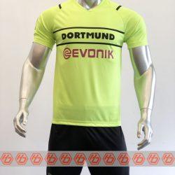 Áo Dortmund sân khách màu xanh dạ quang 2021-2022