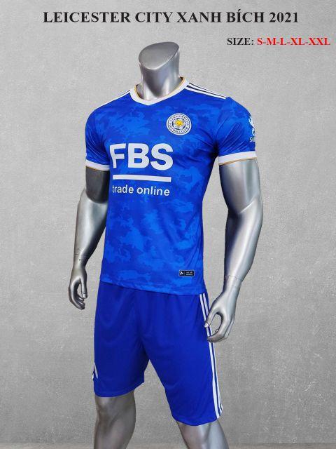 Quần áo bóng đá CLB LEICESTER màu Xanh bích mùa giải 21-22