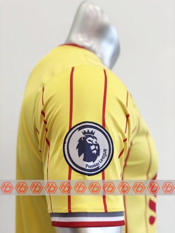 Quần áo bóng đá CLB LIVERPOOL màu Vàng mùa giải 21-22