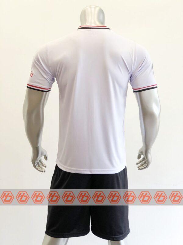 Quần áo bóng đá CLB LIVERPOOL màu Trắng sọc đỏ mùa giải 21-22