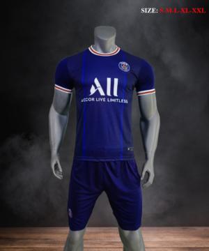 Quần áo bóng đá CLB PSG màu Xanh đen mùa giải 21-22