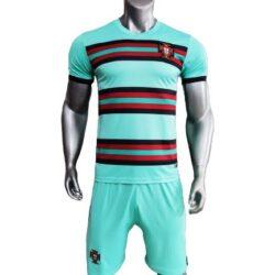 Áo Bồ Đào Nha màu Xanh Ngọc 2021-2022