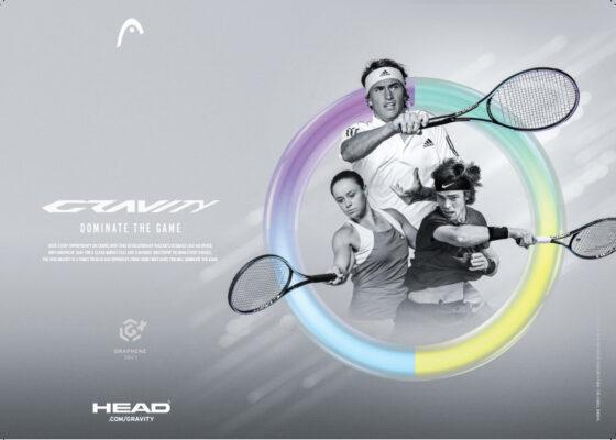 Vợt Tennis HEAD GRAVITY Lite 2021 270gram (233851) không trợ lực banner