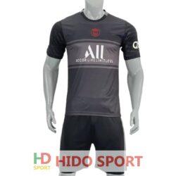 Áo PSG màu đen xám 2021-2022