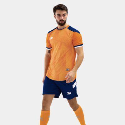 Bộ quần áo bóng đá Euro Hà Lan Cam