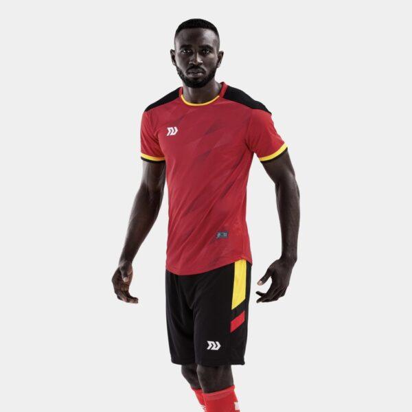 Bộ quần áo bóng đá Euro Bỉ Đỏ