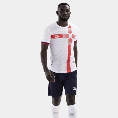 Bộ quần áo bóng đá Euro Anh Trắng