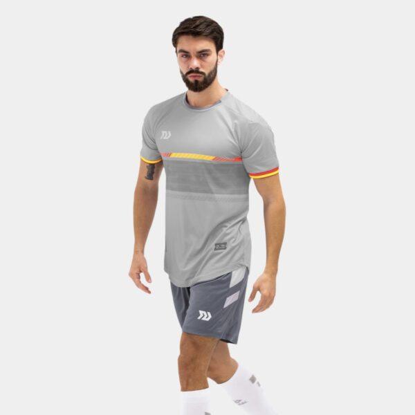 Bộ quần áo bóng đá Euro Tây Ban Nha Xám
