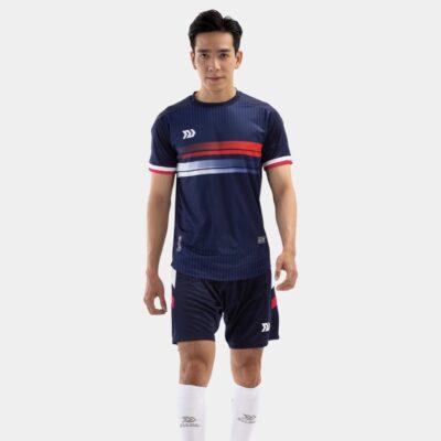 Bộ quần áo bóng đá Euro Pháp Xanh đen