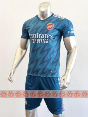 Quần áo bóng đá CLB ARSENAL màu Xanh mùa giải 21-22