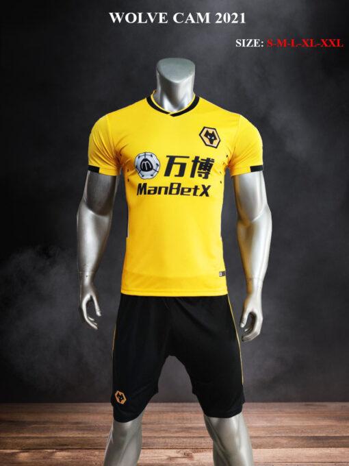 Quần áo bóng đá CLB WOLVE màu Cam mùa giải 21-22