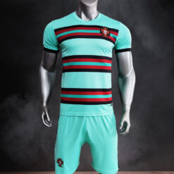 Quần áo bóng đá Đội tuyển Bồ Đào Nha màu Xanh Ngọc mùa giải 21-22