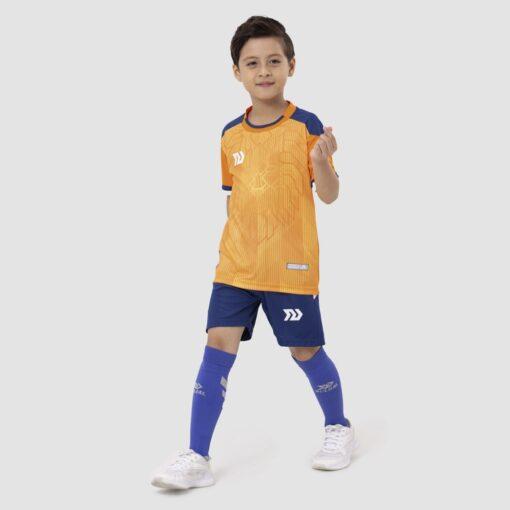 Bộ quần áo bóng đá trẻ em Euro Hà Lan Cam
