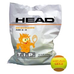 Bóng tennis trẻ em HEAD T.I.P Orange (Túi 72 quả)
