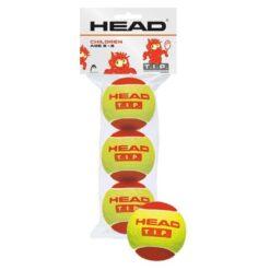 Bóng tennis trẻ em HEAD T.I.P Red