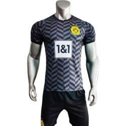 Áo Dortmund sân khách màu đen 2021 2022