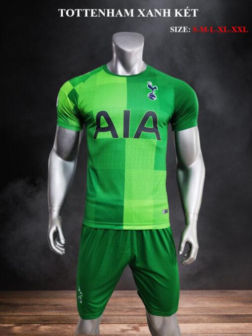 Quần áo bóng đá CLB Tottenham màu Xanh Lá mùa giải 21-22