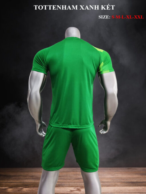 Quần áo bóng đá CLB Tottenham màu Xanh Lá mùa giải 21-22 mặt lưng
