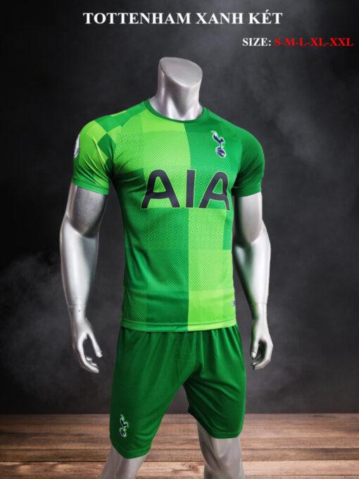Quần áo bóng đá CLB Tottenham màu Xanh Lá mùa giải 21-22 mặt nghiêng