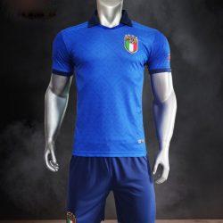 Quần áo bóng đá Đội tuyển Ý màu Xanh bích 21-22