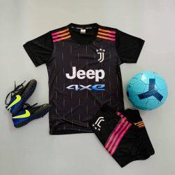 Quần áo bóng đá Trẻ Em CLB JUVENTUS màu Đen 21-22