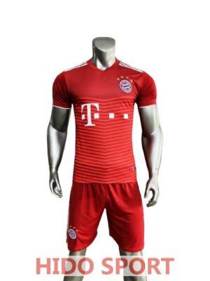 Áo Bayern Sân Nhà Màu đỏ 2021 2022