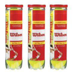Banh Tennis Wilson Championship ( Hộp đỏ 4 Trái)