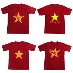 Áo Việt Nam cờ đỏ sao vàng cổ động thun thể thao