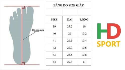 Cách Chọn Size Giày đá Banh