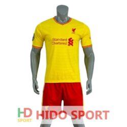 Áo Liverpool màu Vàng 2021-2022