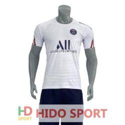 Áo PSG training màu trắng 2021-2022